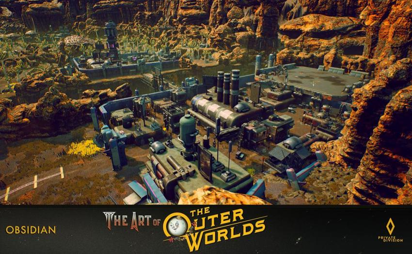 The art of The Outer Worlds 90