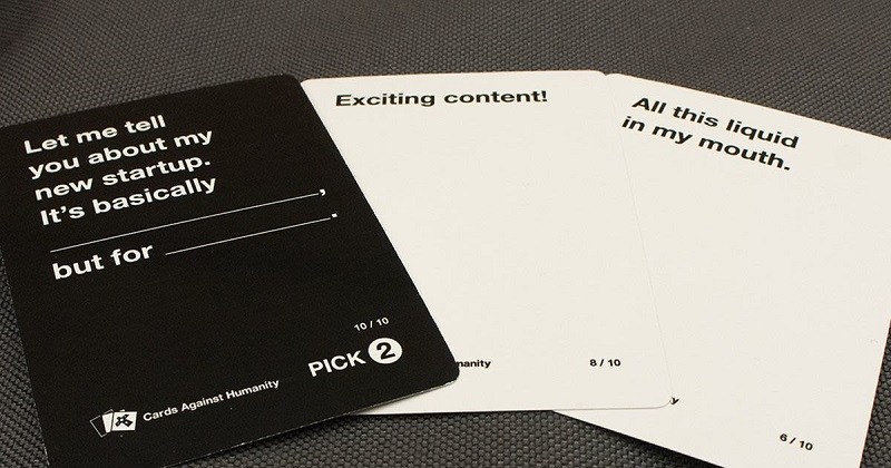 Cards against humanity put its writers against AI to see who comes up with the best cards 3