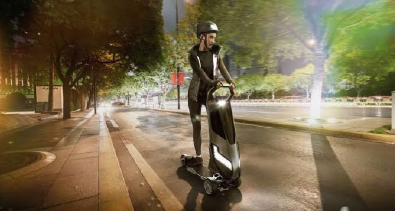 Forget the e-scooter, meet the Hyperscooter 5