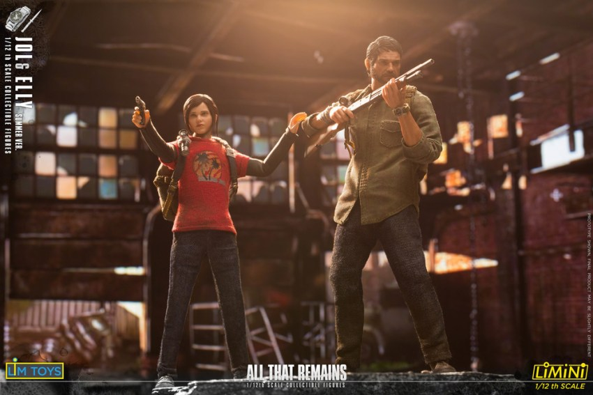 These Jol and Elly 1/12 scale All That Remains figures are just too adorable for the post apocalypse 20