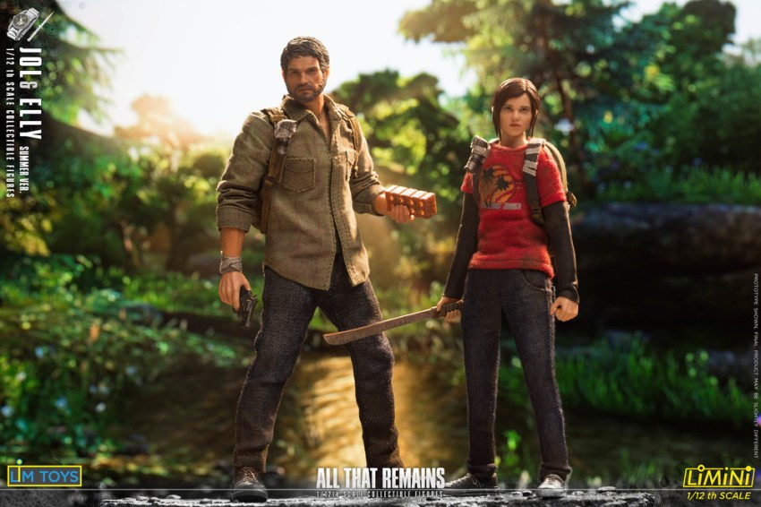 These Jol and Elly 1/12 scale All That Remains figures are just too adorable for the post apocalypse 24