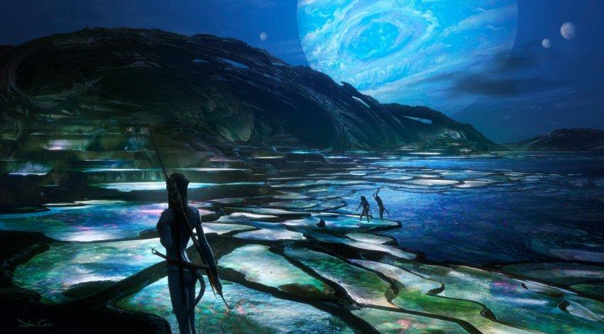 James Cameron unveils stunning Avatar 2 concept art... and concept car? 18
