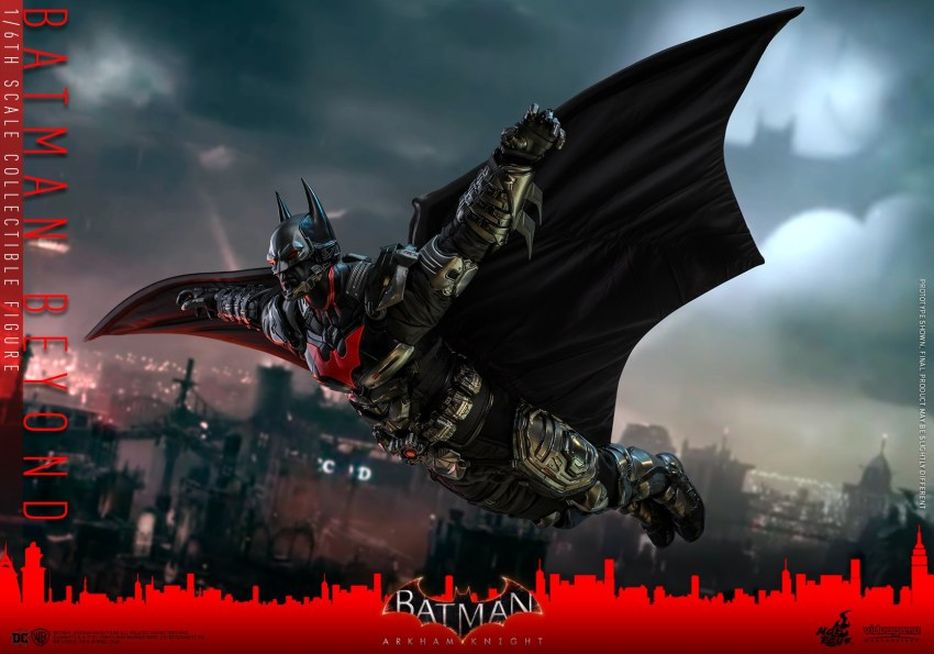 Hot Toys Batman Beyond is ready to be Gotham's Tomorrow Knight 18