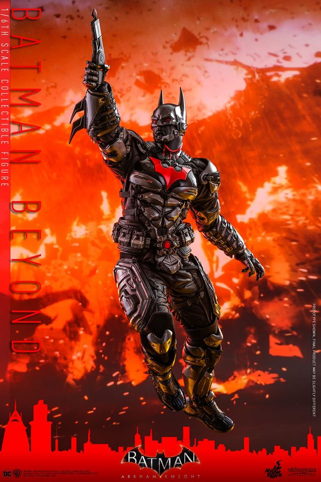 Hot Toys Batman Beyond is ready to be Gotham's Tomorrow Knight 27