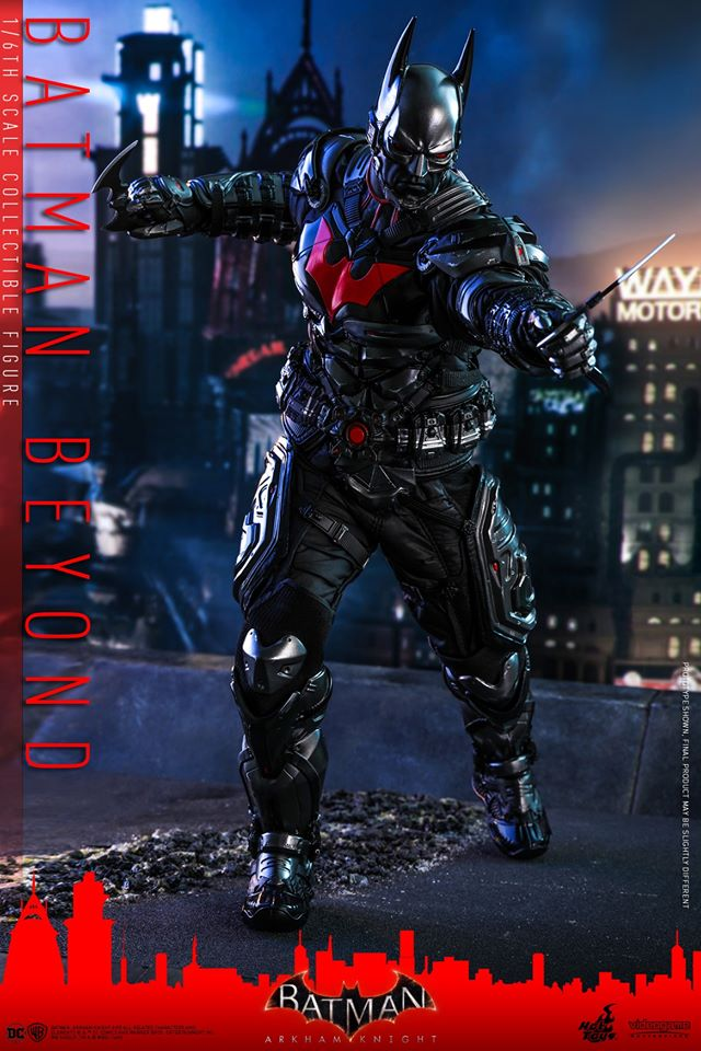 Hot Toys Batman Beyond is ready to be Gotham's Tomorrow Knight 21