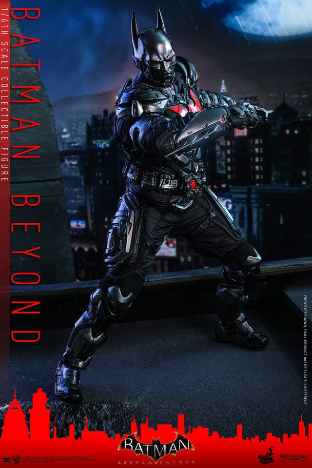Hot Toys Batman Beyond is ready to be Gotham's Tomorrow Knight 22