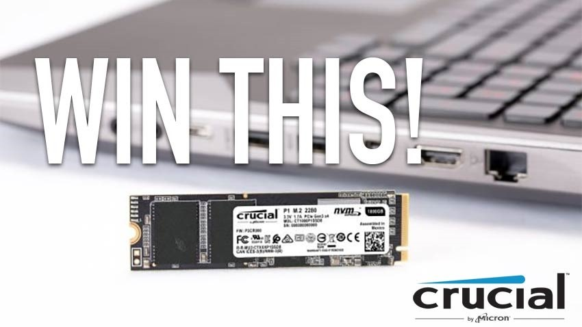 Competition: Win a Crucial P1 500GB NVMe M.2 SSD to give your PC a boost! 6