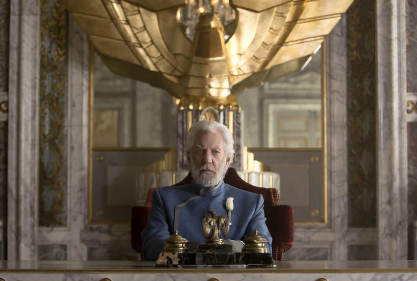 The Hunger Games prequel will follow a heroic young President Snow 5