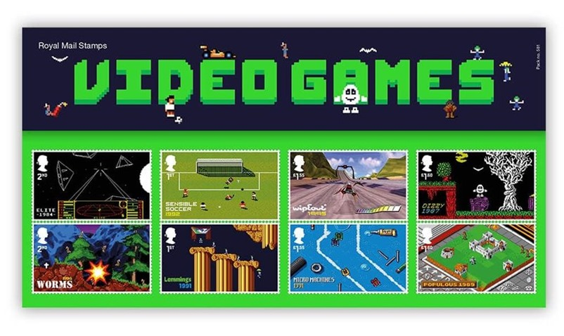 Video game stamps