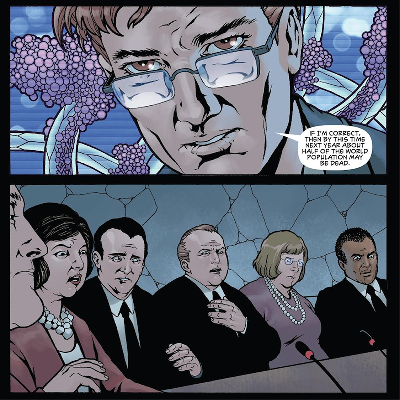 The Clock – Time to worry about weaponised cancer in this intriguing comic 6