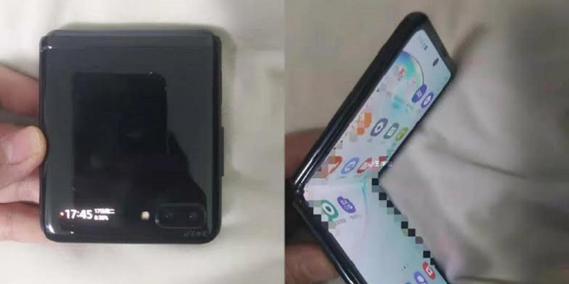 Samsung leak shows video of the 5G Galaxy Z Flip 2