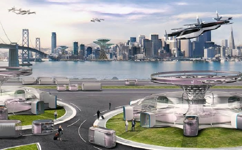 Hyundai readying its flying car for Uber's air taxi service 6