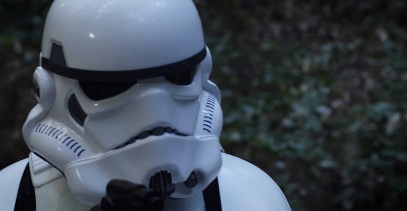 A stormtrooper is on the run in this remarkable fan-made Star Wars short film 2