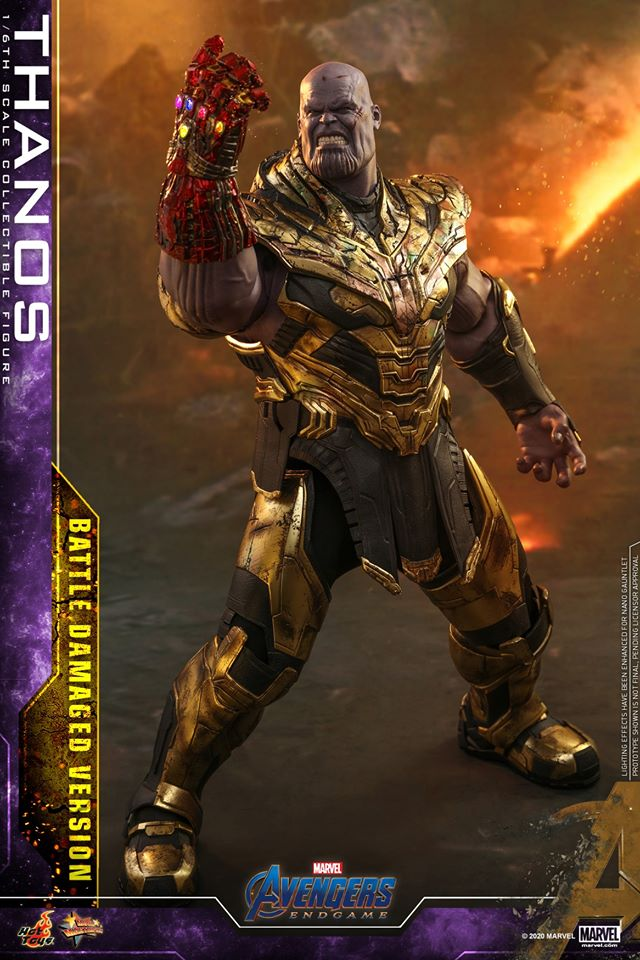 Hot Toys' latest Thanos figure is very worried that he might not survive Avengers: Endgame 33