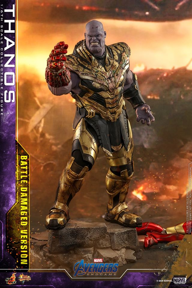 Hot Toys' latest Thanos figure is very worried that he might not survive Avengers: Endgame 34