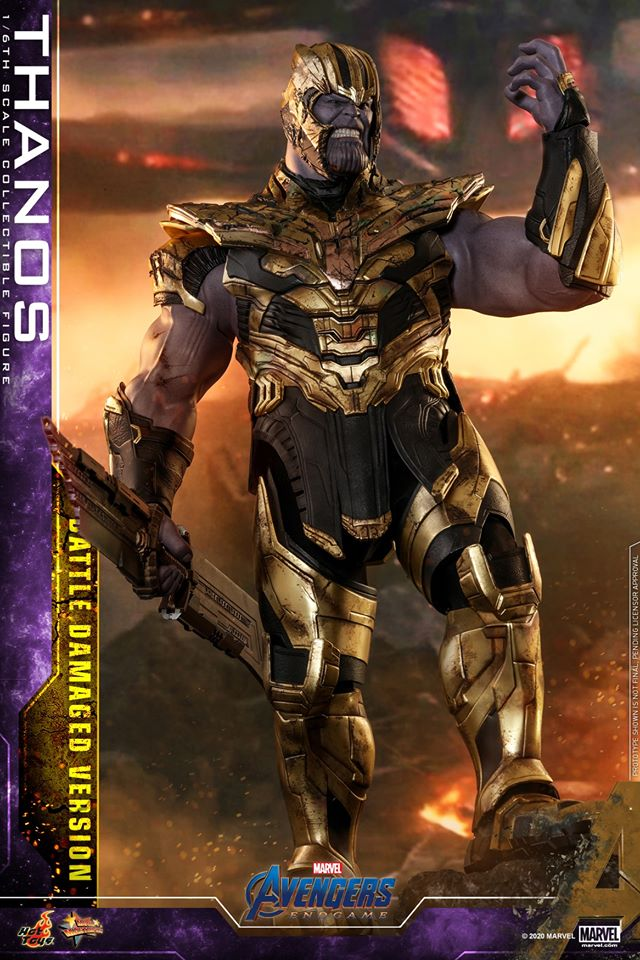 Hot Toys' latest Thanos figure is very worried that he might not survive Avengers: Endgame 35