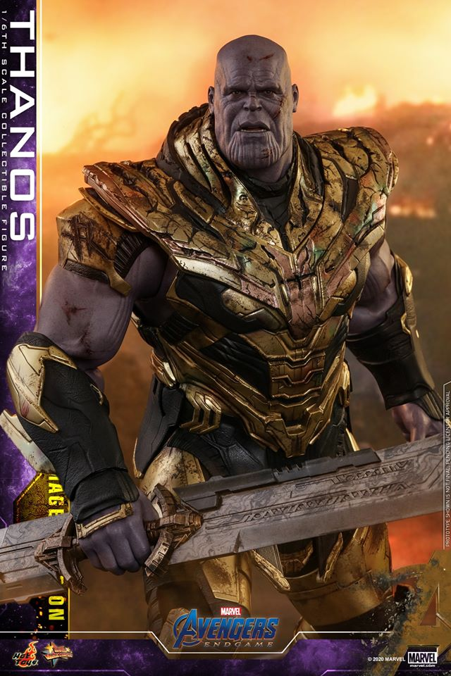 Hot Toys' latest Thanos figure is very worried that he might not survive Avengers: Endgame 36