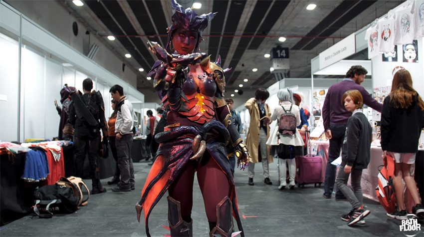 The magnificent cosplay of Japan Weekend Madrid 2020 1