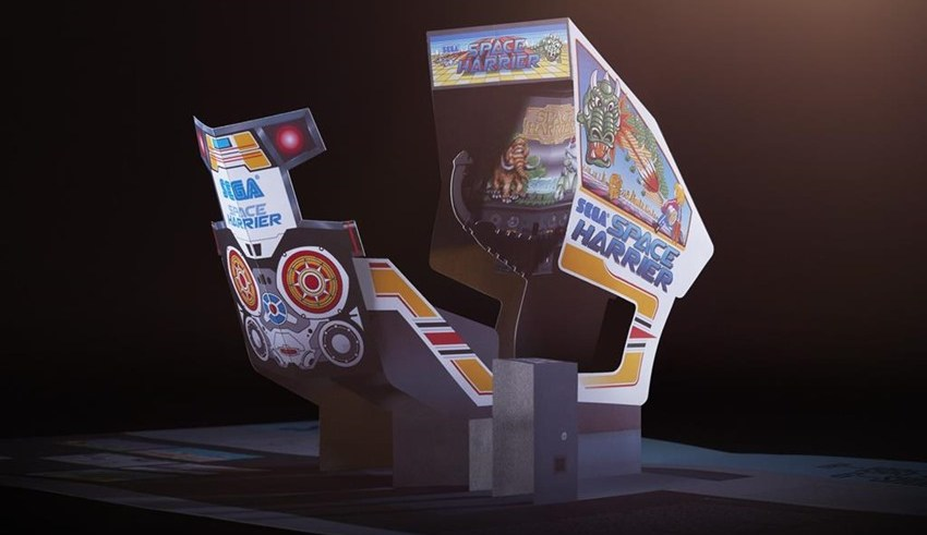 Relive the glory arcade days of Sega with a new pop-up history book 2
