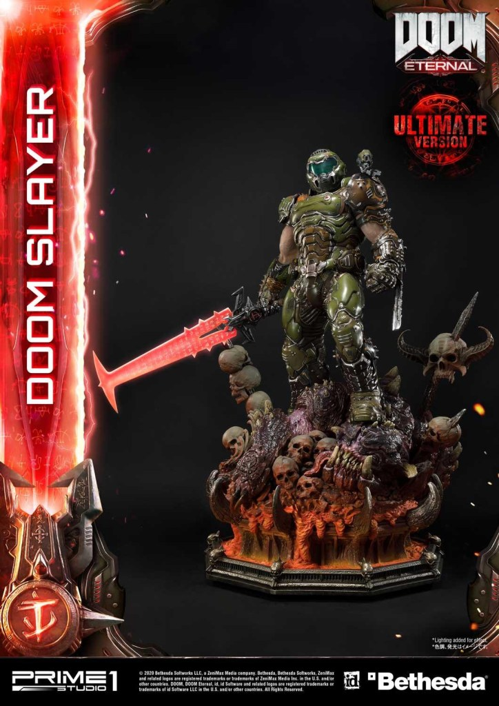 This $2400 DOOM Eternal Doom Slayer statue from Prime 1 is ready to rip and tear 41