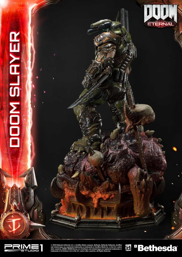 This $2400 DOOM Eternal Doom Slayer statue from Prime 1 is ready to rip and tear 43