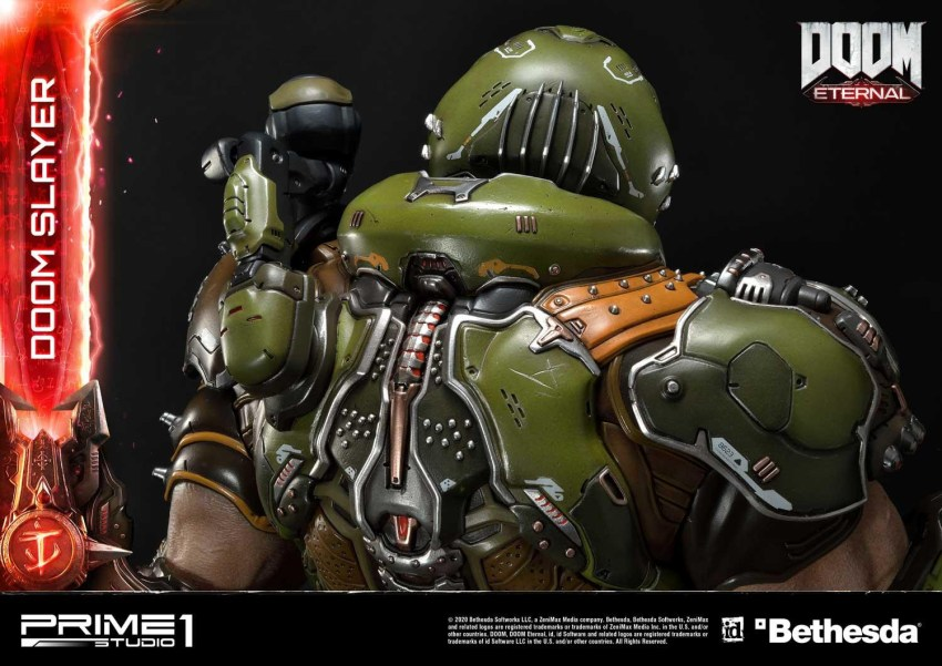 This $2400 DOOM Eternal Doom Slayer statue from Prime 1 is ready to rip and tear 46