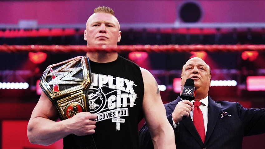 RAW March 23 Brock