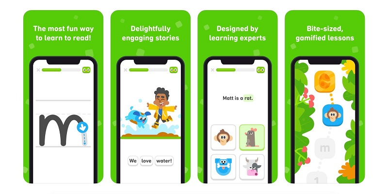 Duolingo releases an app to teach your kids to read and write 4