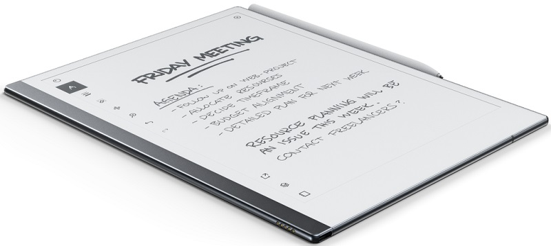 "Remarkable 2.0 is the ""thinnest"" tablet in the world 3"