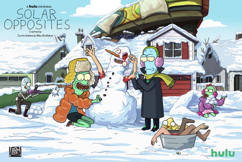 Solar Opposites: Watch the trailer for Rick & Morty co-creator's new show 2