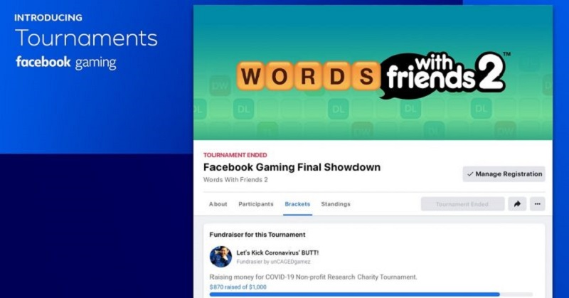 Facebook gaming launches Tournaments 4
