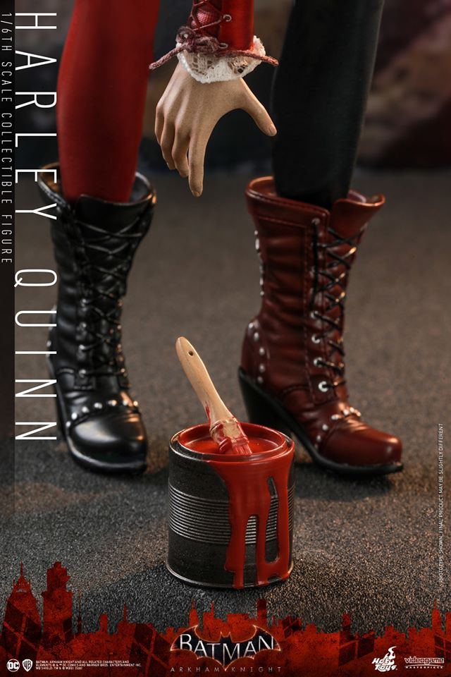 Hot Toys Harley Quinn is ready to paint the town red 25