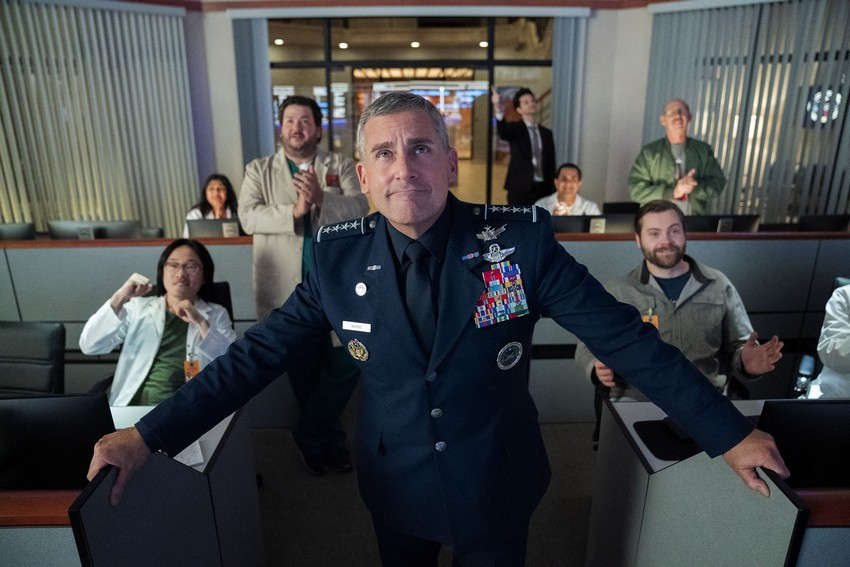 Work on Space force season 2 has already started, even though it hasn't been officially renewed by Netflix 3