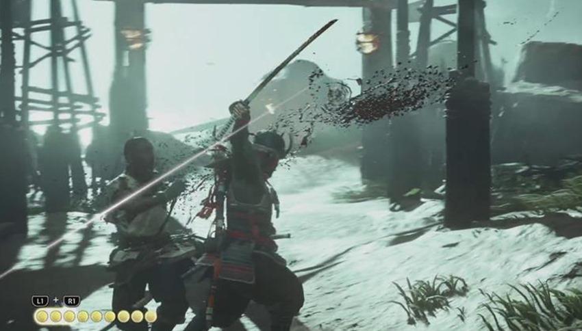 Ghost of Tsushima combat (2)