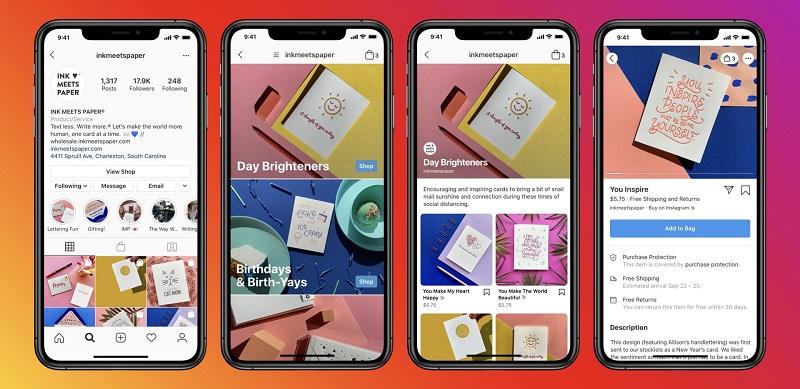 Facebook launches new e-commerce platform Shops 4
