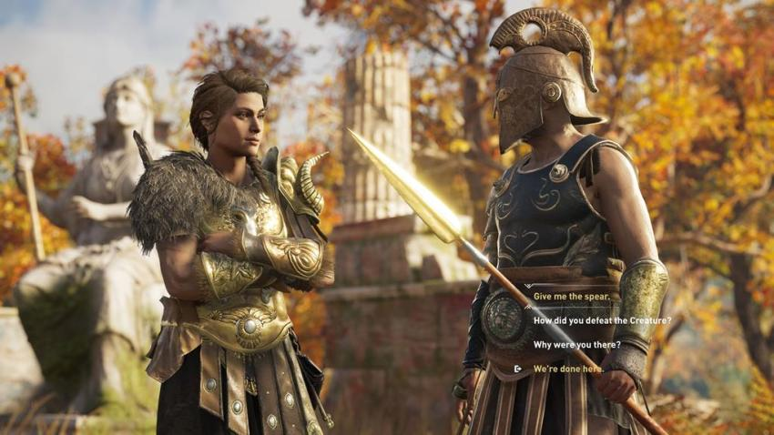 In these hard times, might I offer you this delicious Assassin's Creed Odyssey? 4