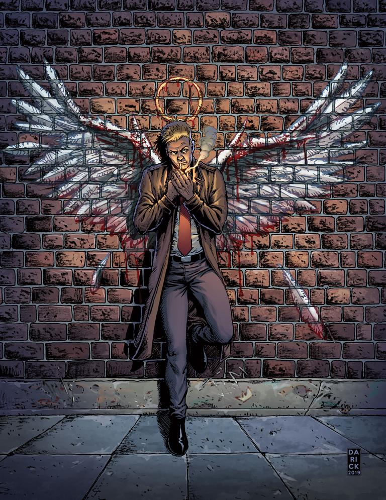John Constantine is taking on the rich and the powerful in Hellblazer: Rise and Fall 12