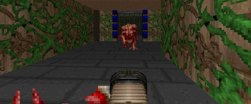 You can now play the original Doom in Minecraft 2