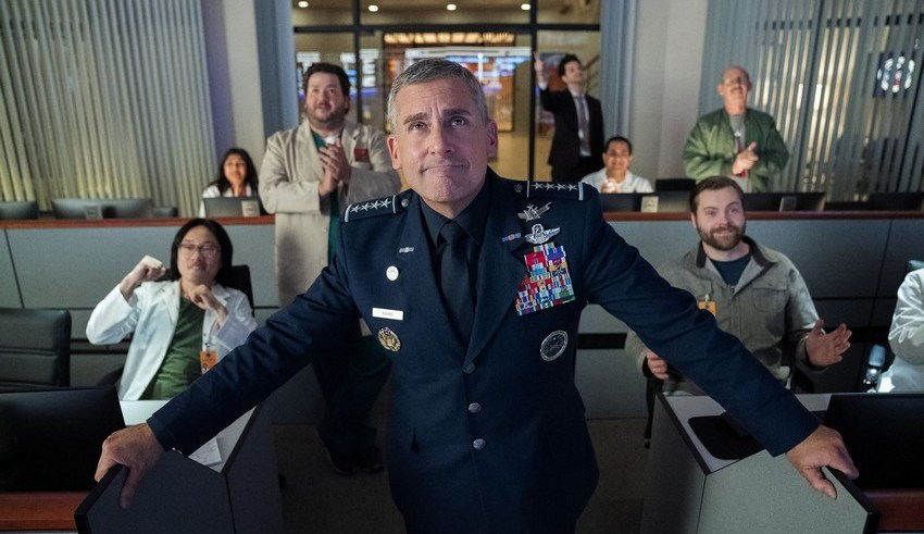 Work on Space force season 2 has already started, even though it hasn't been officially renewed by Netflix 12