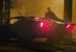 Early concept model gives a better look at Robert Pattison's Batmobile 6