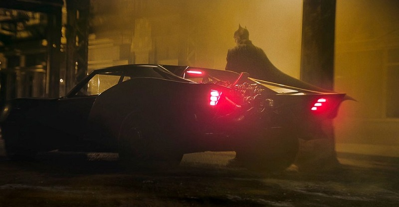 Early concept model gives a better look at Robert Pattison's Batmobile 1