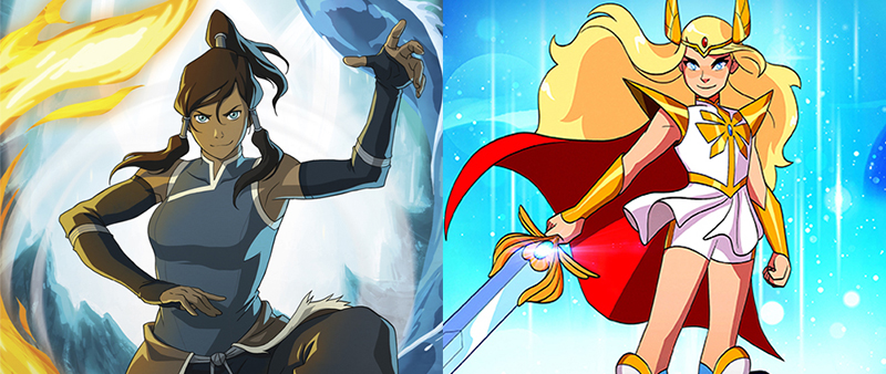 "Korra and She-Ra: Five similarities between these pioneering ""spirit sisters"" and animated series 16"