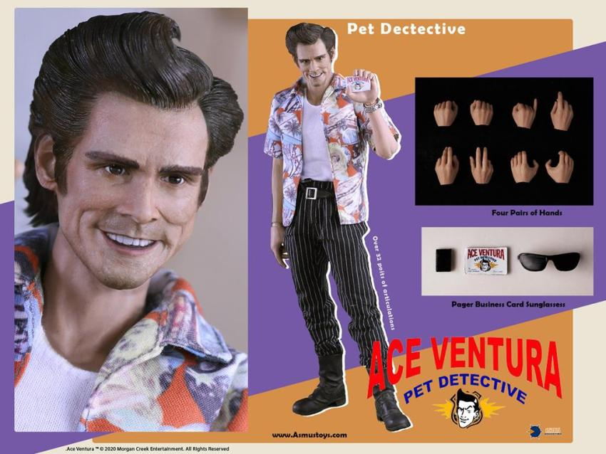 This Ace Ventura collectible toy is pure nightmare fuel 14