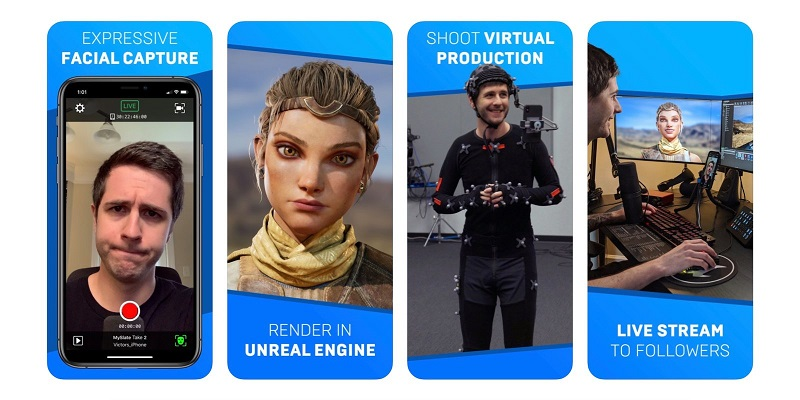 Epic creates app to capture facial expressions for new Unreal engine from your smartphone 4