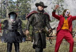 Red Dead Online fans are protesting Rockstar by dressing up as clowns 6