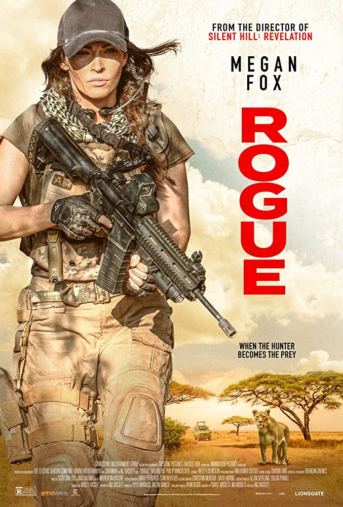 It's Megan Fox versus terrorists and killer lions in the action thriller Rogue 4
