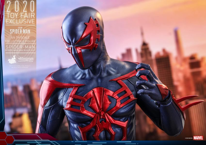 Spider-Man 2099 is finally getting a spectacular Hot Toys figure 30