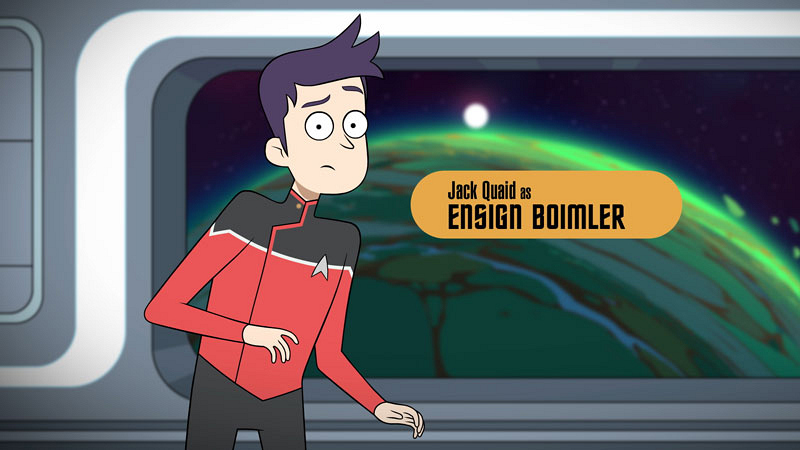 Meet the cool scrappy underdogs of CBS All-Access' animated comedy series Star Trek: Lower Decks 10