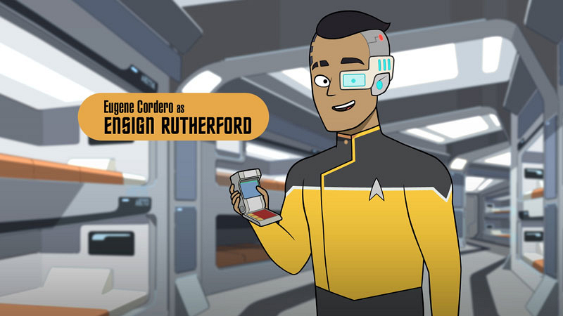 Meet the cool scrappy underdogs of CBS All-Access' animated comedy series Star Trek: Lower Decks 12