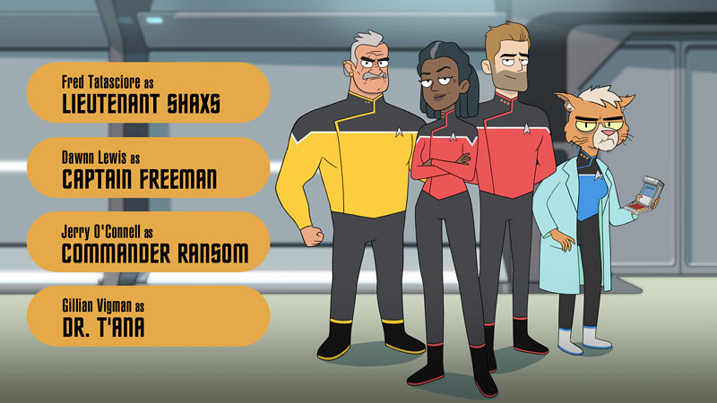 Meet the cool scrappy underdogs of CBS All-Access' animated comedy series Star Trek: Lower Decks 13